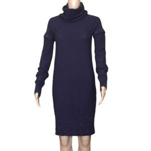 Lacoste sweater dress with detachable sleeves